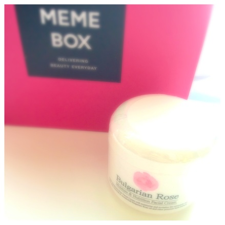 kskin rose cream memebox
